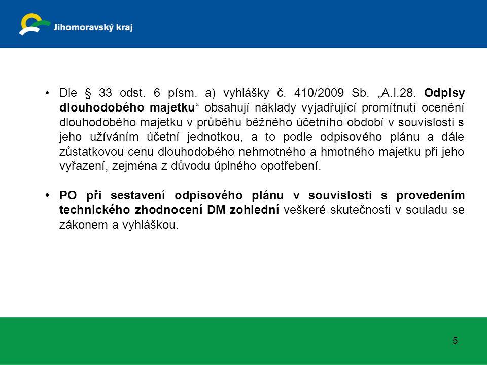 5 Dle § 33 odst. 6 písm. a) vyhlášky č. 410/2009 Sb.