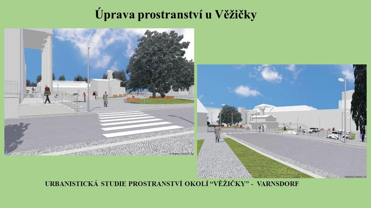 Úprava prostranství u Věžičky URBANISTICKÁ STUDIE PROSTRANSTVÍ OKOLÍ VĚŽIČKY - VARNSDORF