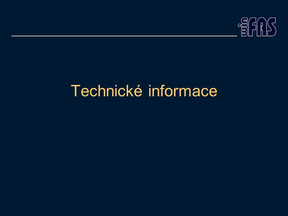 Technické informace