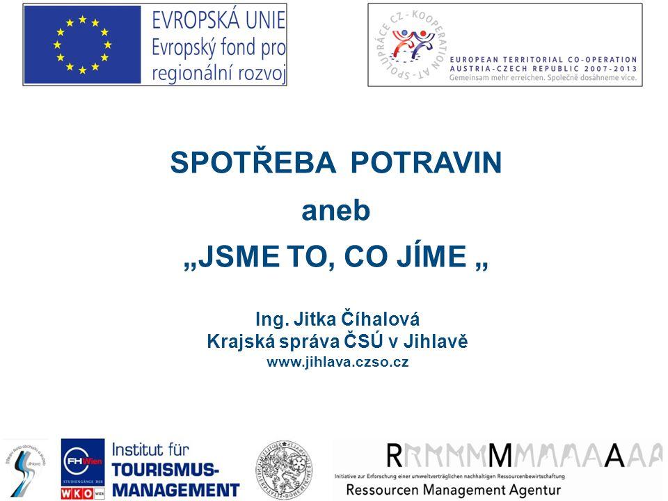 Děkuji za pozornost Ing. Jitka Číhalová Krajská správa ČSÚ Jihlava www.jihlava.czso.cz