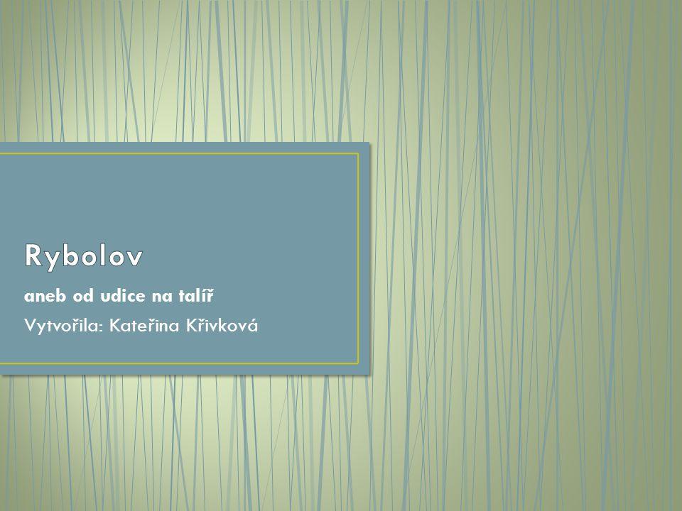 aneb od udice na talíř Vytvořila: Kateřina Křivková