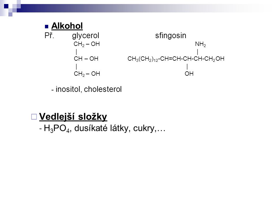 Alkohol Př.