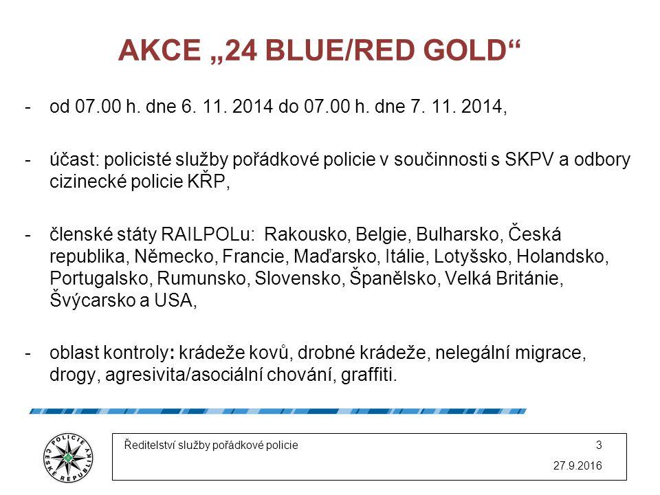 "AKCE ""24 BLUE/RED GOLD -od 07.00 h. dne 6. 11. 2014 do 07.00 h."