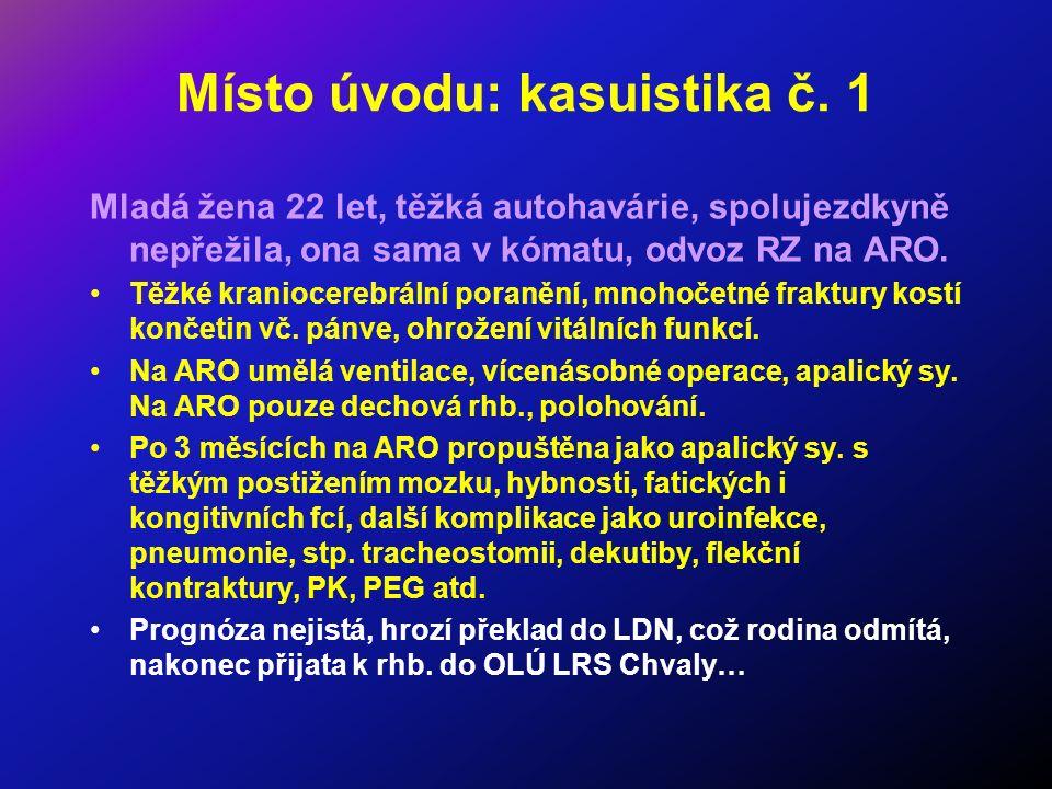 Kasuistika č.2 Pacient 51 let, do prodělané infekce rel.