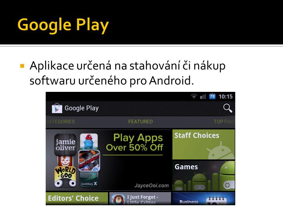 1) Založ si účet na Google.cz Kde?Kde.2) Přihlas se do Google Play.