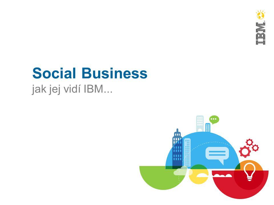 Social Business jak jej vidí IBM...