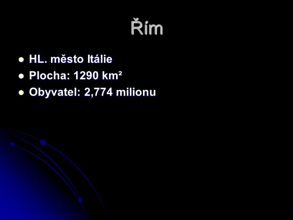 Řím HL. město Itálie HL.