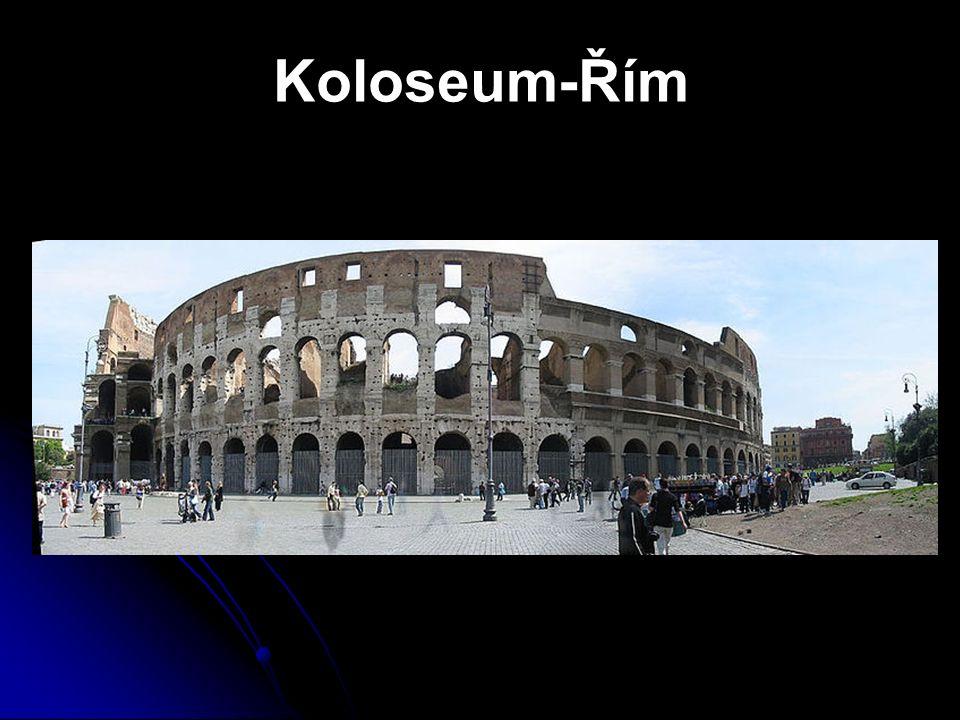 Koloseum-Řím
