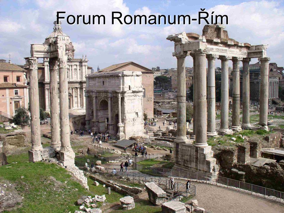 Forum Romanum-Řím