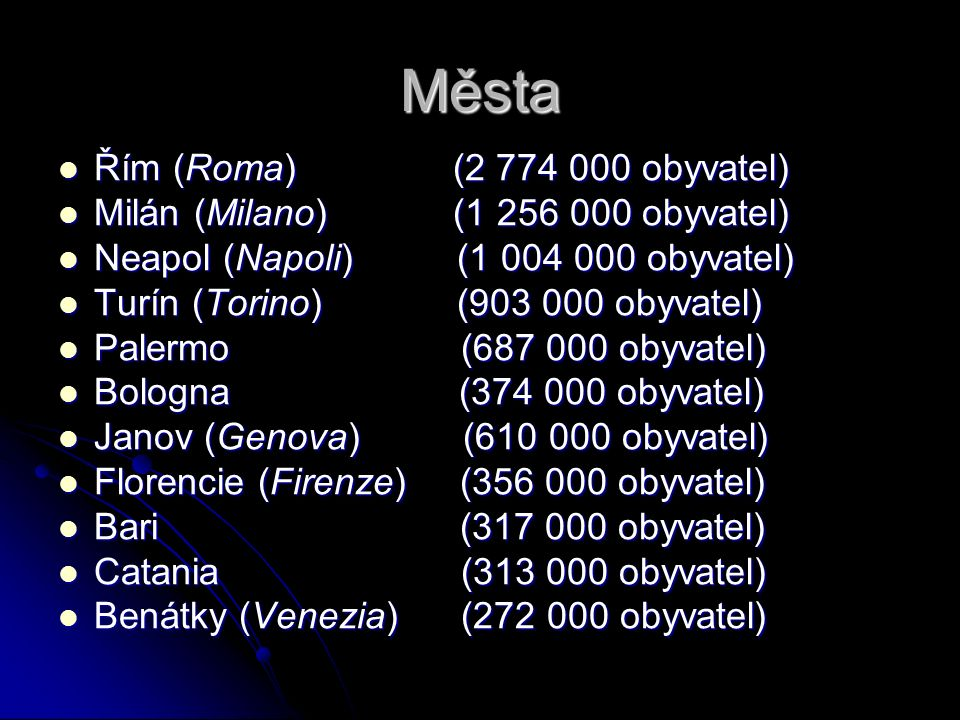Benatky-Venezia Rozloha:412 km² Rozloha:412 km² Obyvatelé:271 267 Obyvatelé:271 267