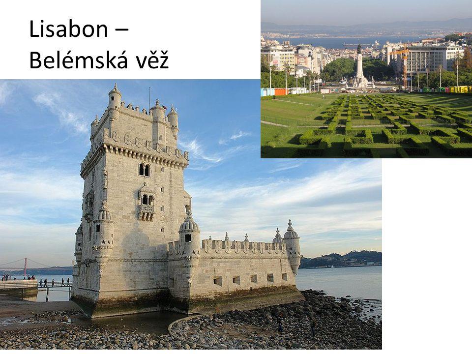 Lisabon – Belémská věž