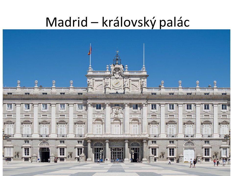 Madrid – královský palác