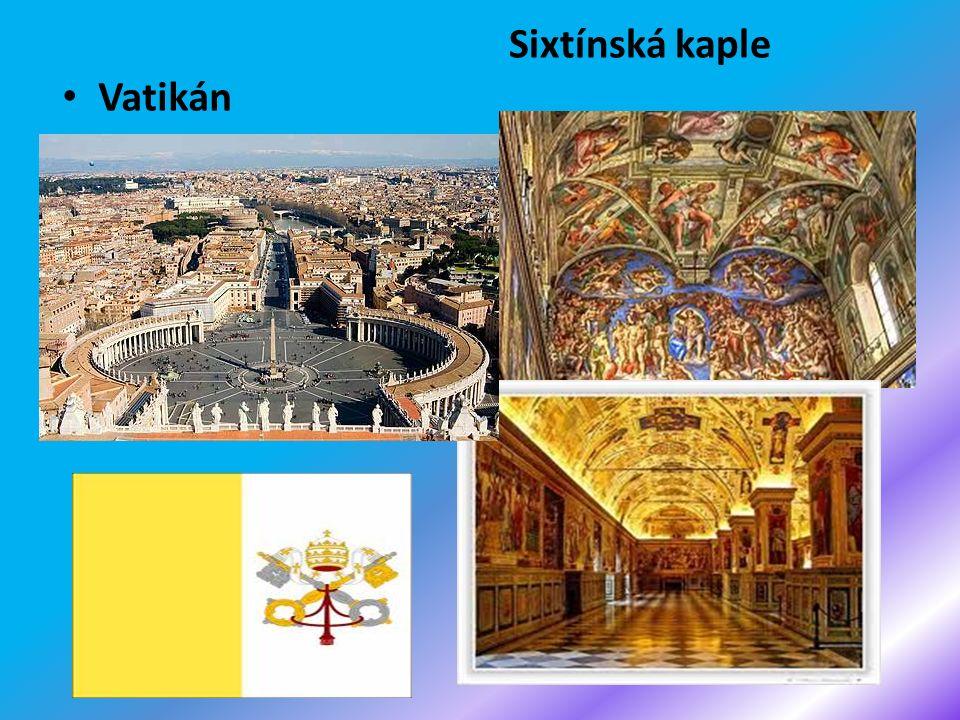 Vatikán Sixtínská kaple