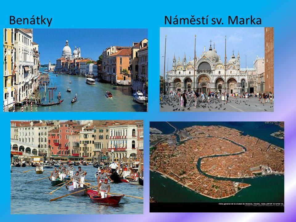 Benátky Náměstí sv. Marka