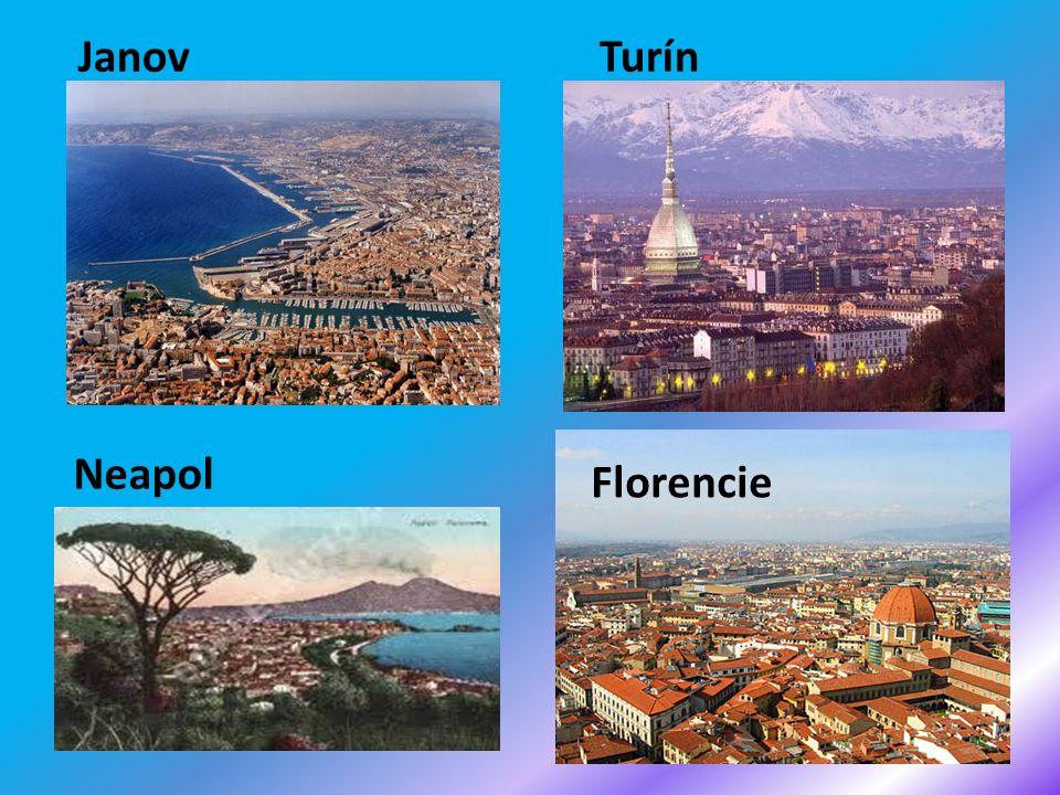 JanovTurín Neapol Florencie