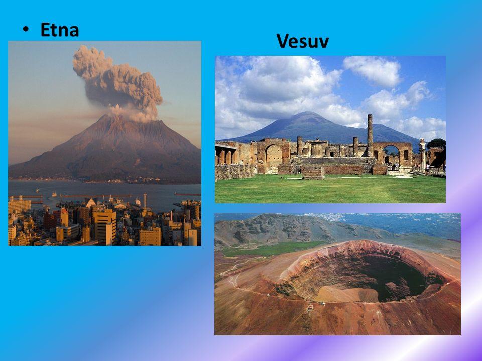 Etna Vesuv