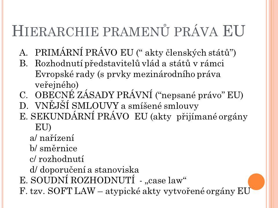 EXKURS :P RAMENY PRÁVA II.