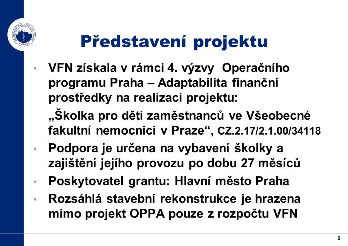 2 Představení projektu VFN získala v rámci 4.