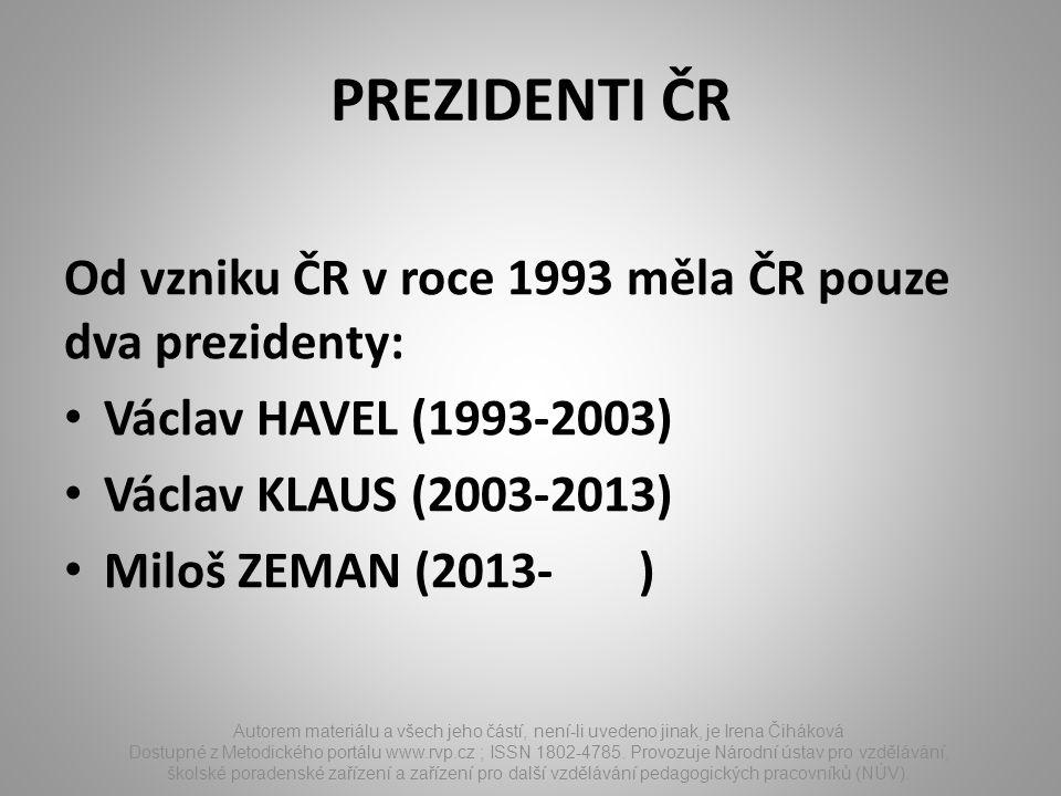 ÚKOLY Autorem materiálu a všech jeho částí, není-li uvedeno jinak, je Irena Čiháková Dostupné z Metodického portálu www.rvp.cz ; ISSN 1802-4785.