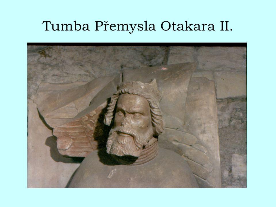 Tumba Přemysla Otakara II.