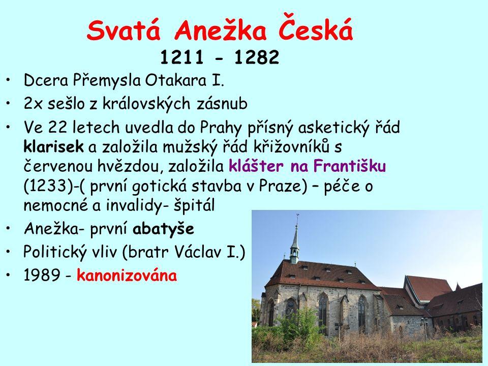 Povstání Vítkovců potlačil hrozbou smrti jejich vůdce Záviše Záviš popraven před hradem Hluboká r.
