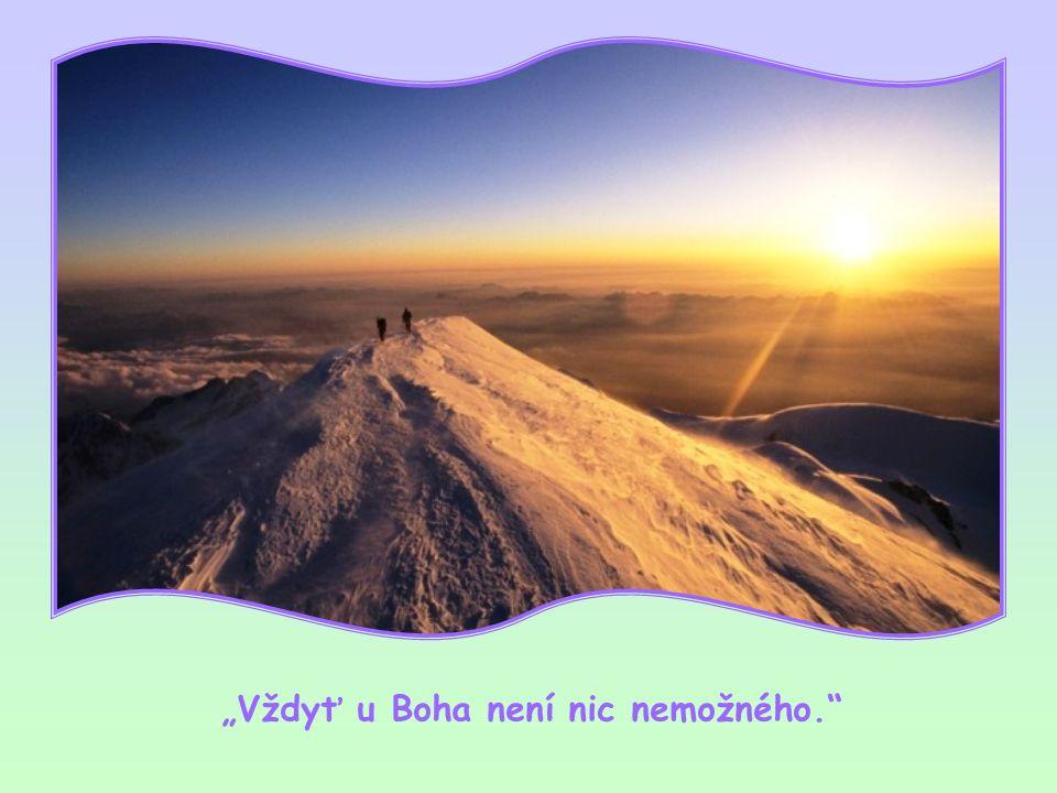 Bůh dal své všemohoucnosti jen jedno omezení, a tím je lidská svoboda, která může odporovat Boží vůli a činit člověka bezmocným, i když je povolaný po