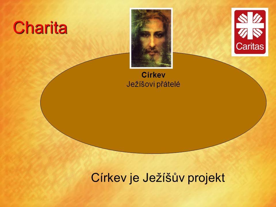 Charita Církev Ježíšovi přátelé Církev je Ježíšův projekt