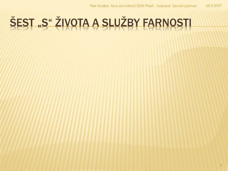 8 18.5.2007 Petr Hruška: Kurz animátorů DCM Plzeň ; ilustrace: Daniel Ladman
