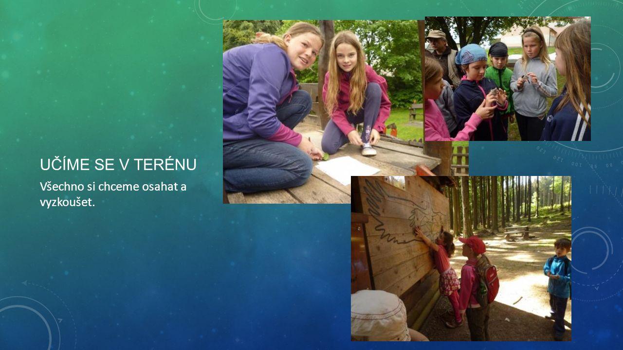 UČÍME SE NÁZORNĚ Pracujeme se spoustou pomůcek, milujeme matematické montessori pomůcky i práci s interaktivní tabulí.