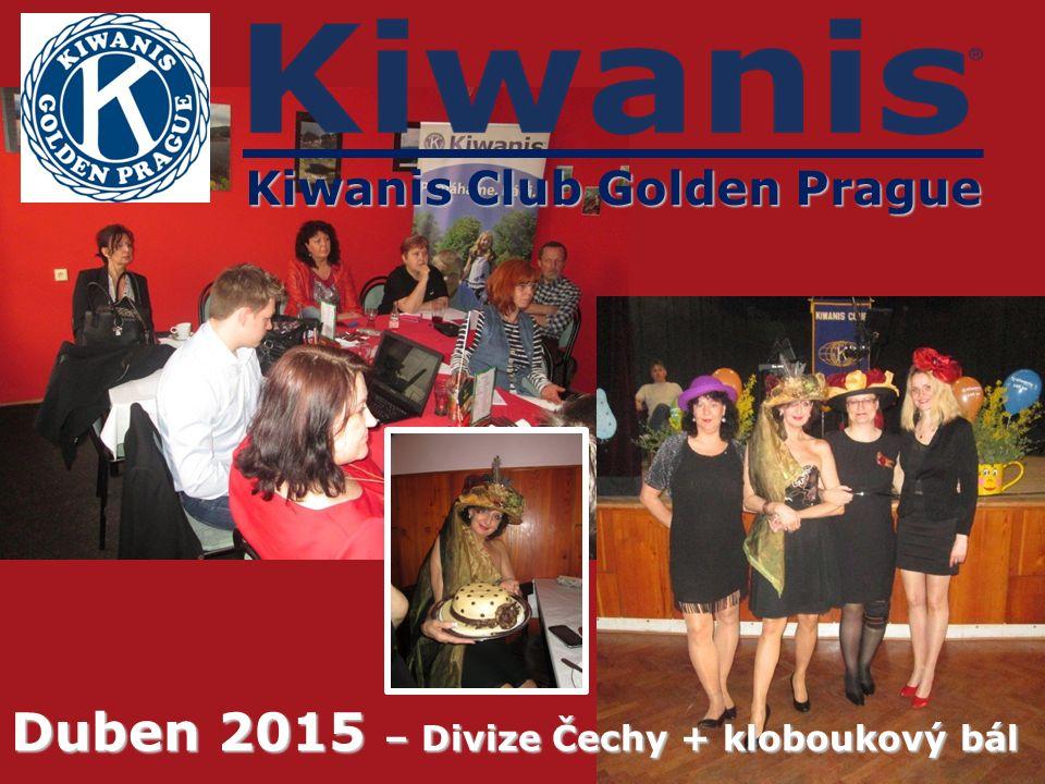Kiwanis Club Golden Prague Duben 2015 – Divize Čechy + kloboukový bál