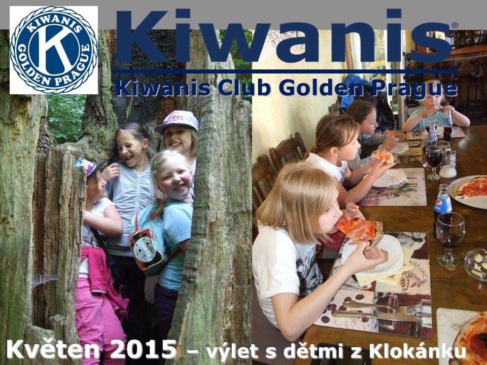 Kiwanis Club Golden Prague Květen 2015 – výlet s dětmi z Klokánku