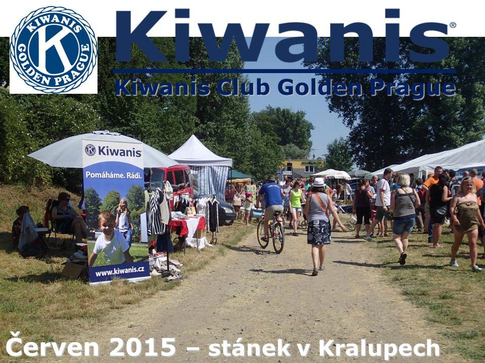 Kiwanis Club Golden Prague Červen 2015 – stánek v Kralupech