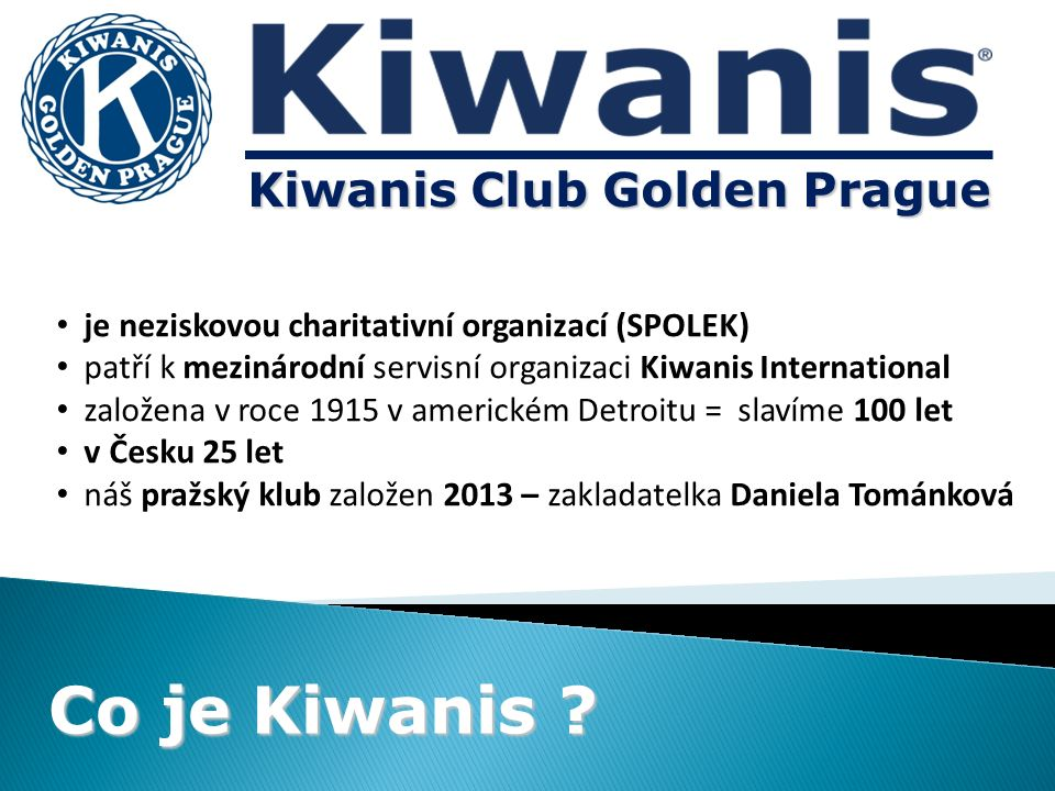 Co je Kiwanis .