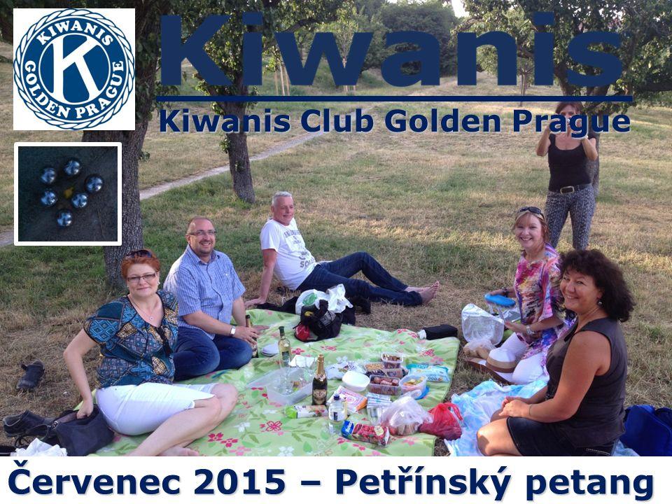 Kiwanis Club Golden Prague Červenec 2015 – Petřínský petang
