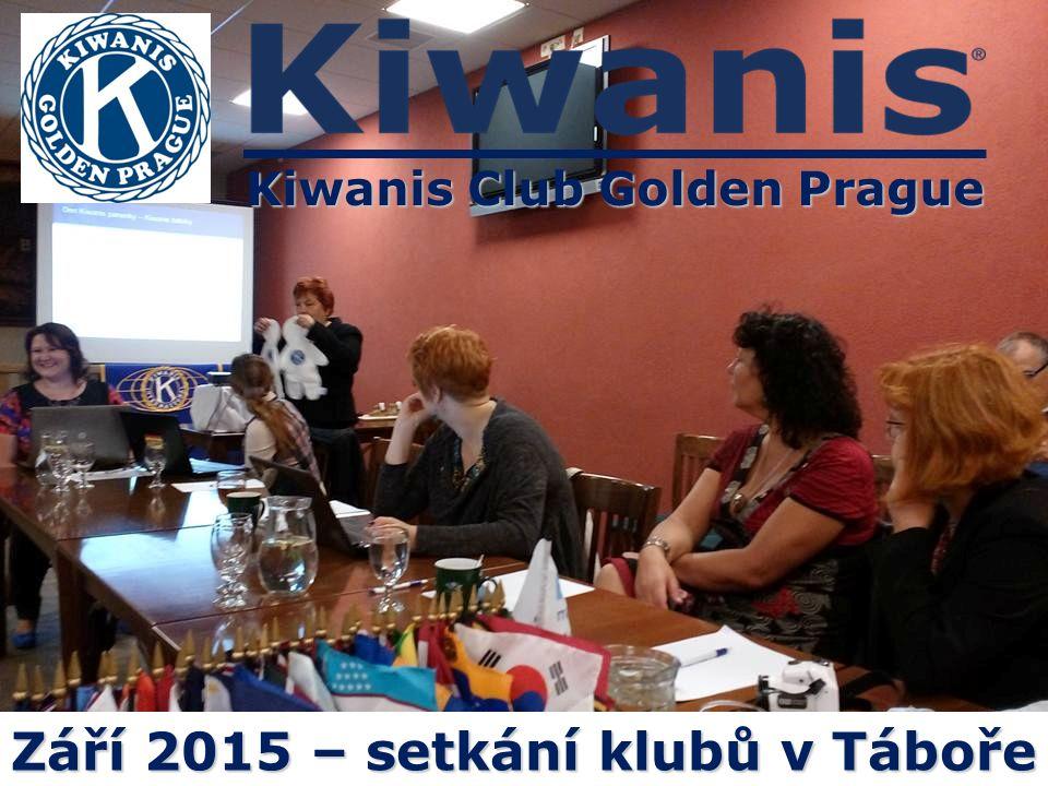 Kiwanis Club Golden Prague Září 2015 – setkání klubů v Táboře