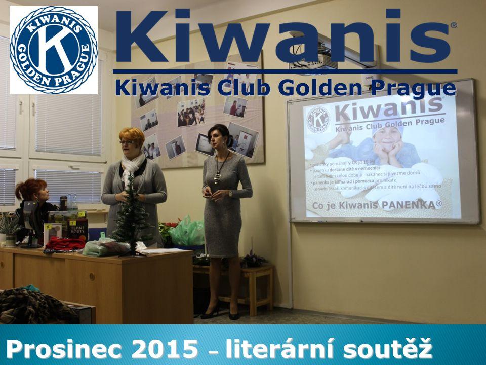 Kiwanis Club Golden Prague Prosinec 2015 – literární soutěž