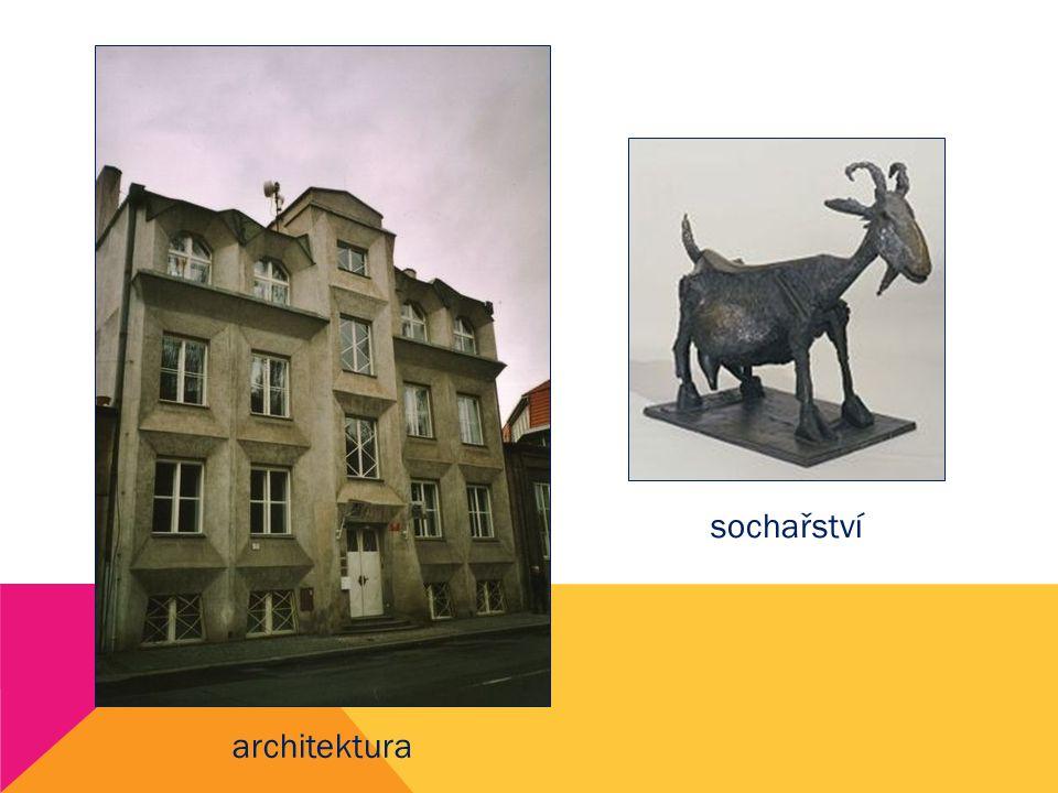 architektura sochařství