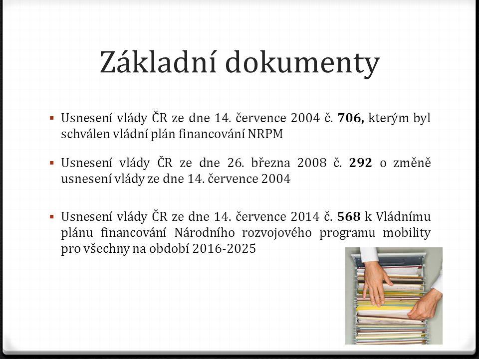 Základní dokumenty  Usnesení vlády ČR ze dne 14. července 2004 č.