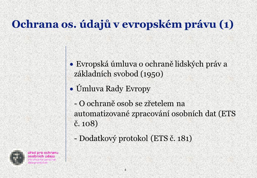 15 Citlivé údaje - definice citlivým údajem (§ 4 písm.