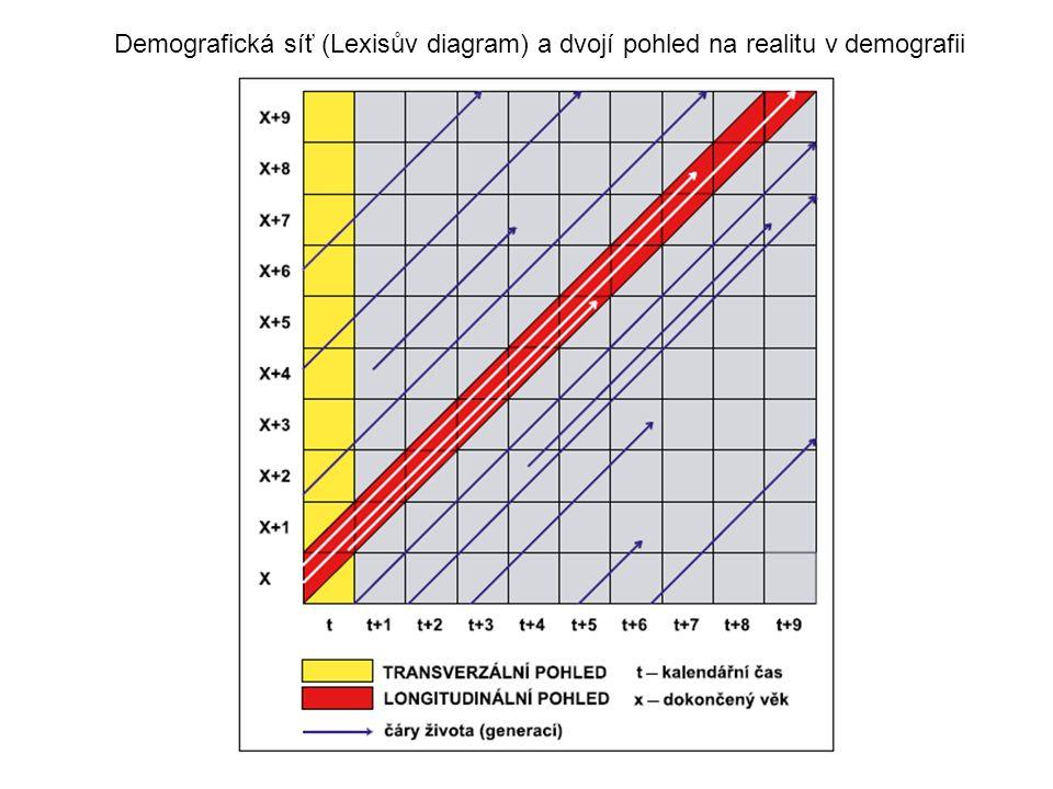 Demografická síť (Lexisův diagram) a dvojí pohled na realitu v demografii