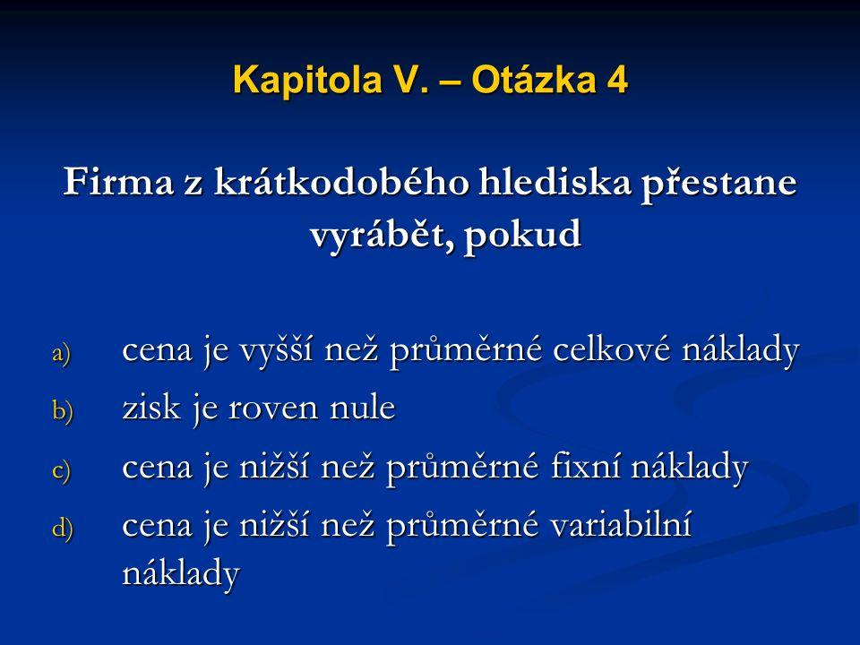Kapitola V.