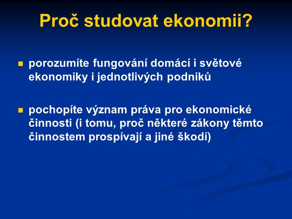 P Q p0p0 q0q0 S (původní platy) D Příklad: platy na (soukromých) univerzitách vzrostou, nabídka studentských míst se proto sníží, cena studia vzroste.