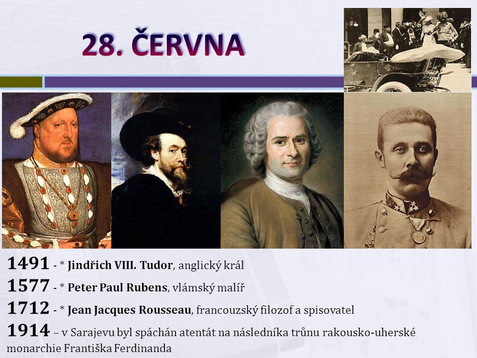 1491 - * Jindřich VIII.