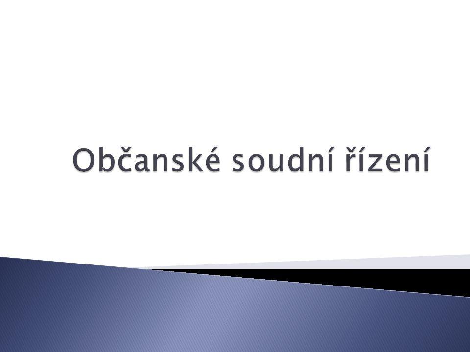 Nejvyšší soudVrchní soudKrajský soudOkresní soud (Emmert a kol., 1995)