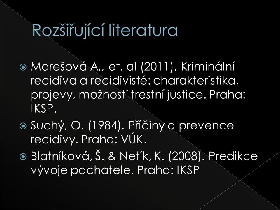  Marešová A., et. al (2011).