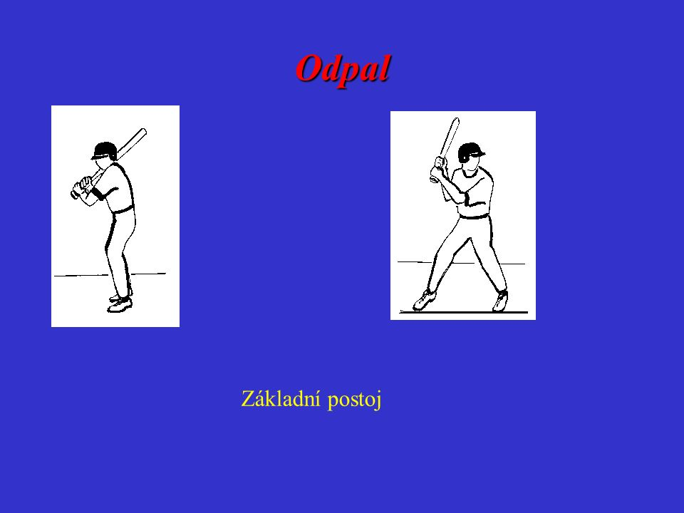 Odpal Okamžik kontaktu s míčemDokončení pohybu