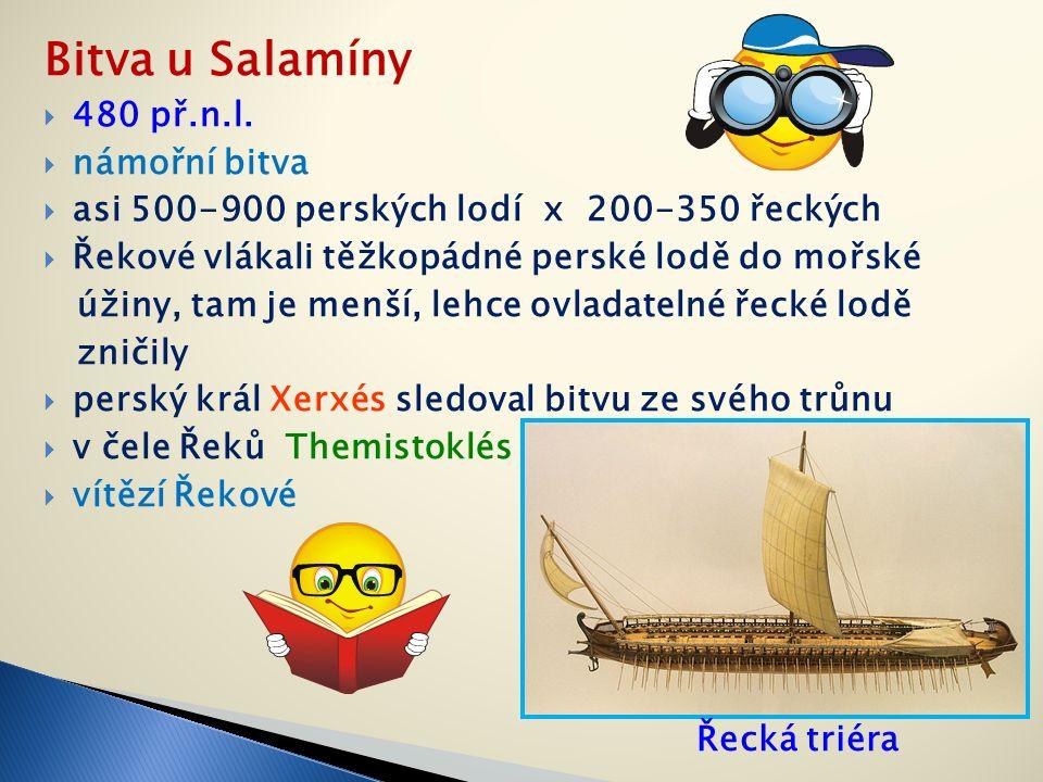 Bitva u Salamíny  480 př.n.l.