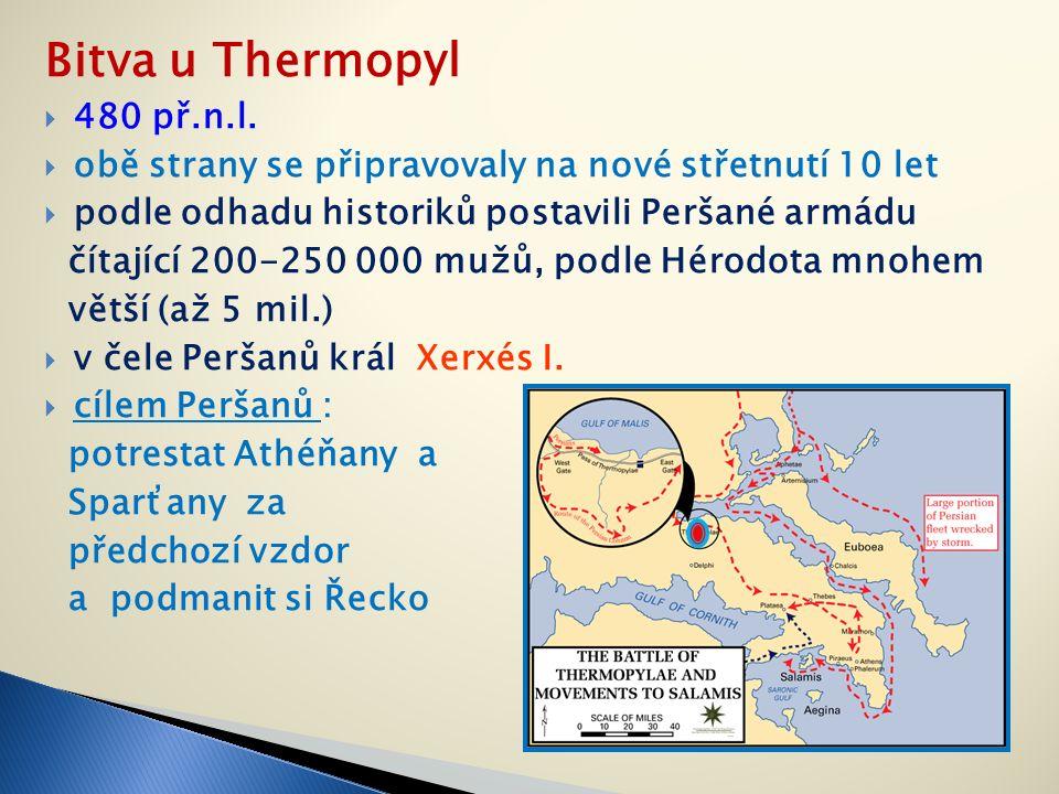 Bitva u Thermopyl  480 př.n.l.