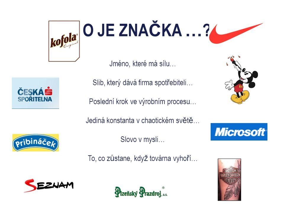 CO JE ZNA Č KA … .