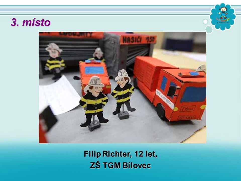 Filip Richter, 12 let, ZŠ TGM Bílovec 3. místo
